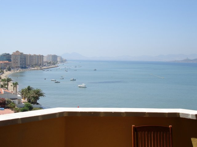 Two bedroom with sofa bed ovelooking the Mar Menor