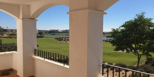 Bright frontline Apartment in Hacienda Riquelme Golf Resort