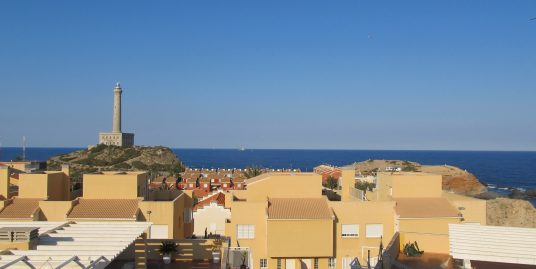 Two bedroom apartment in Cabo de Palos with sea views!