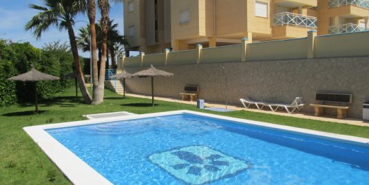 Bright two bedroom property in the Abity beach complex