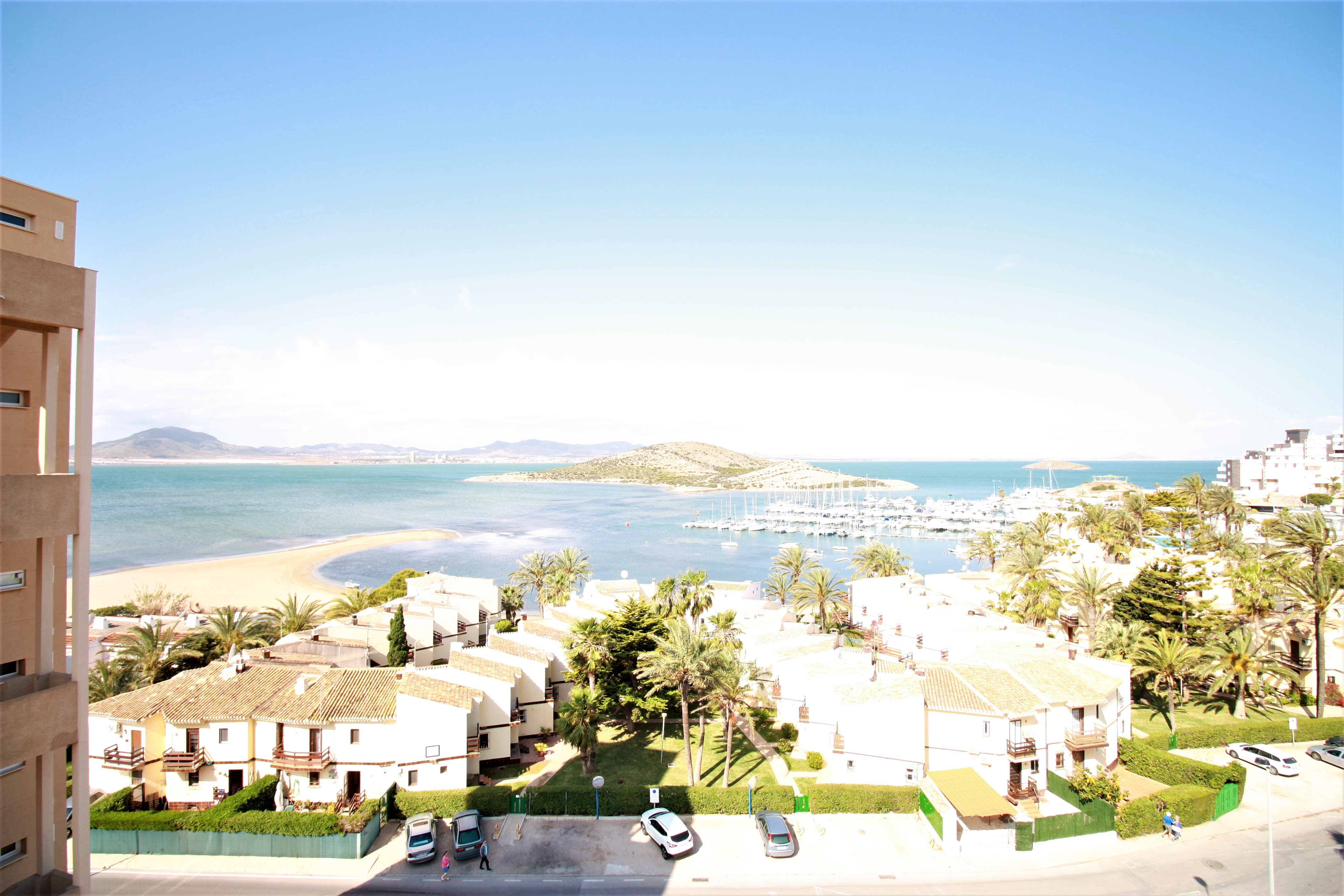 Renovated apartment with west facing views to the Mar Menor