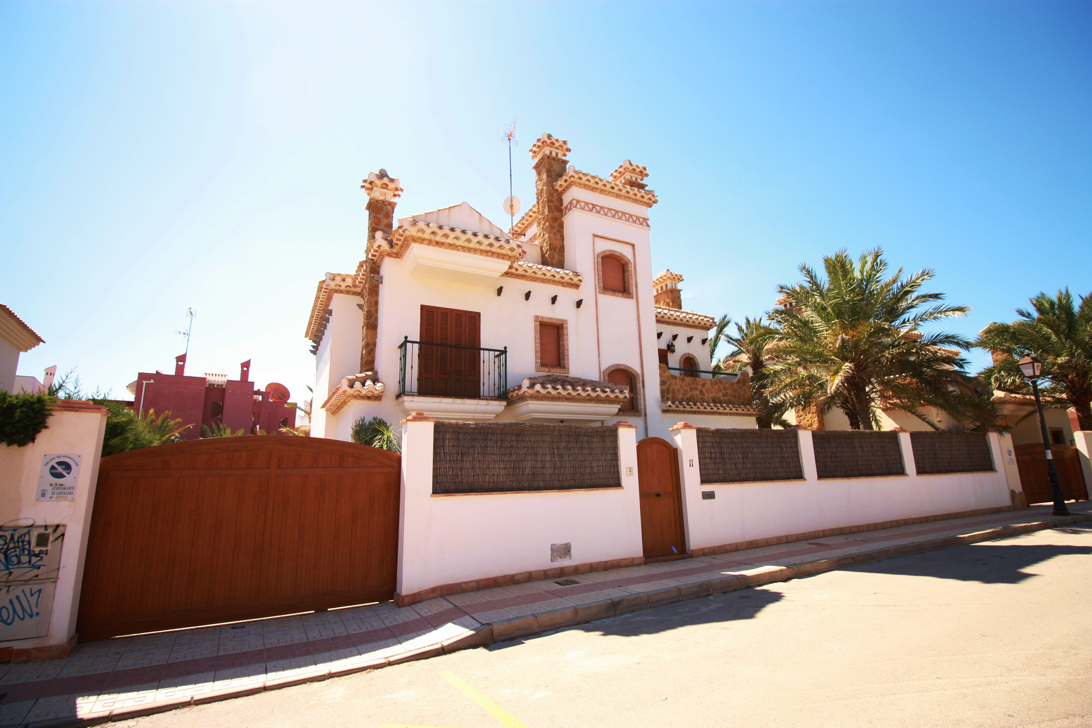 Stunning detached villa with private pool in Cabo de Palos