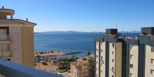 Three bedrooms property with elevated views to both seas!
