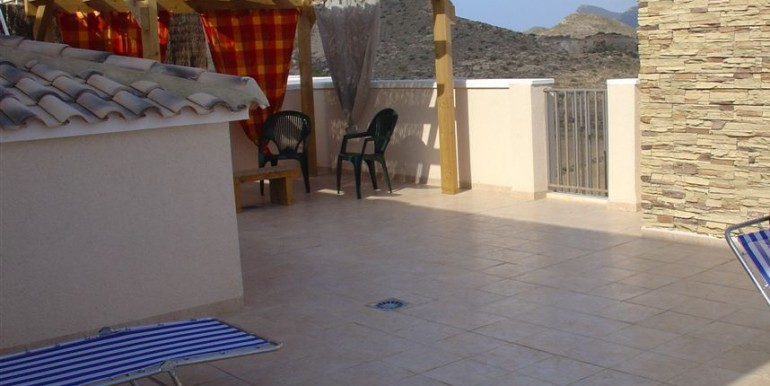 private roof terrace 54msq