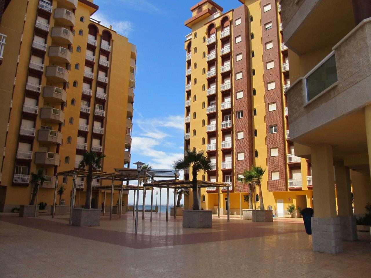 Frontline apartments in Playa Principe