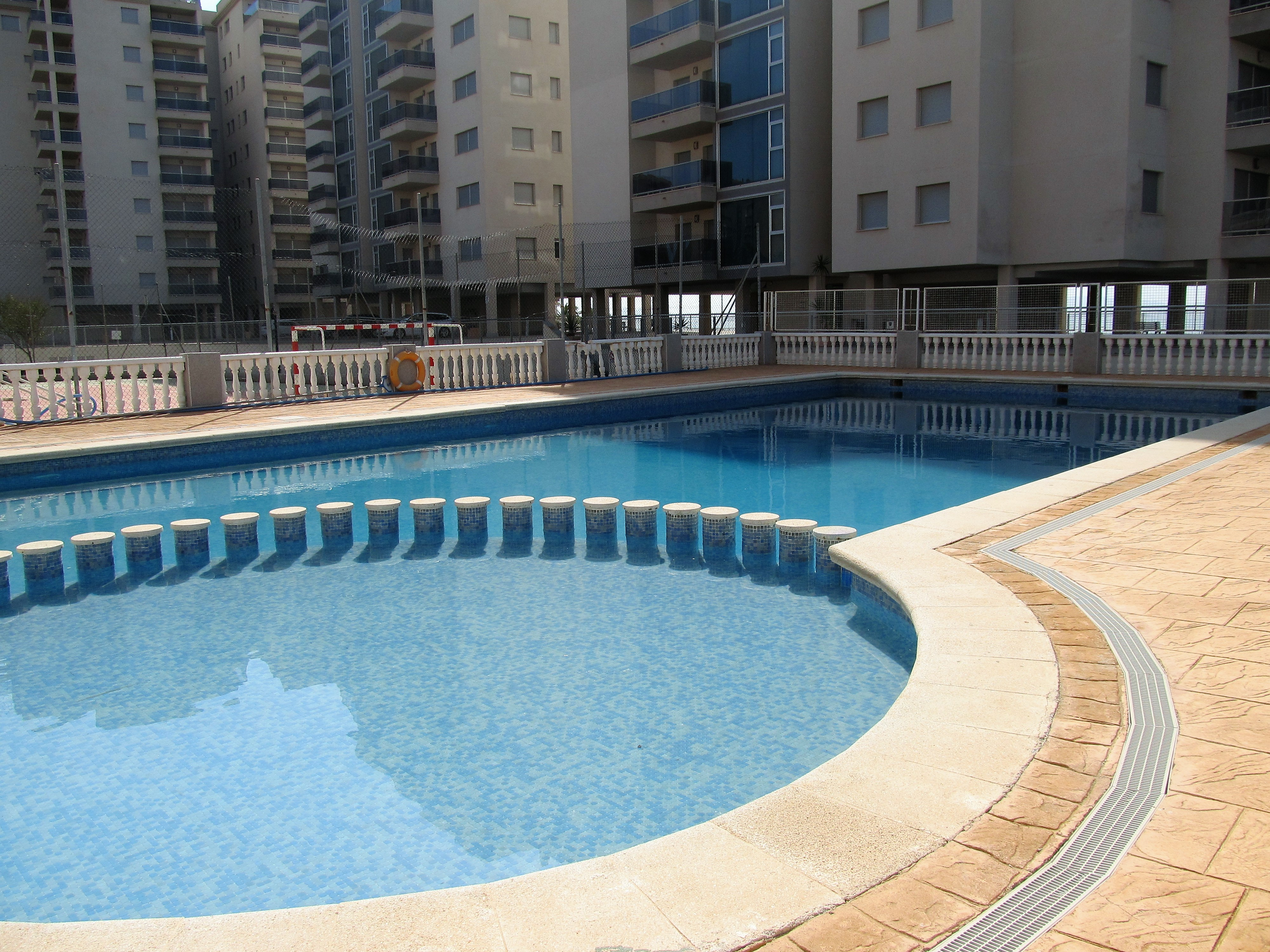 Lovely two-bedroom apartment with parking space in Omega mar