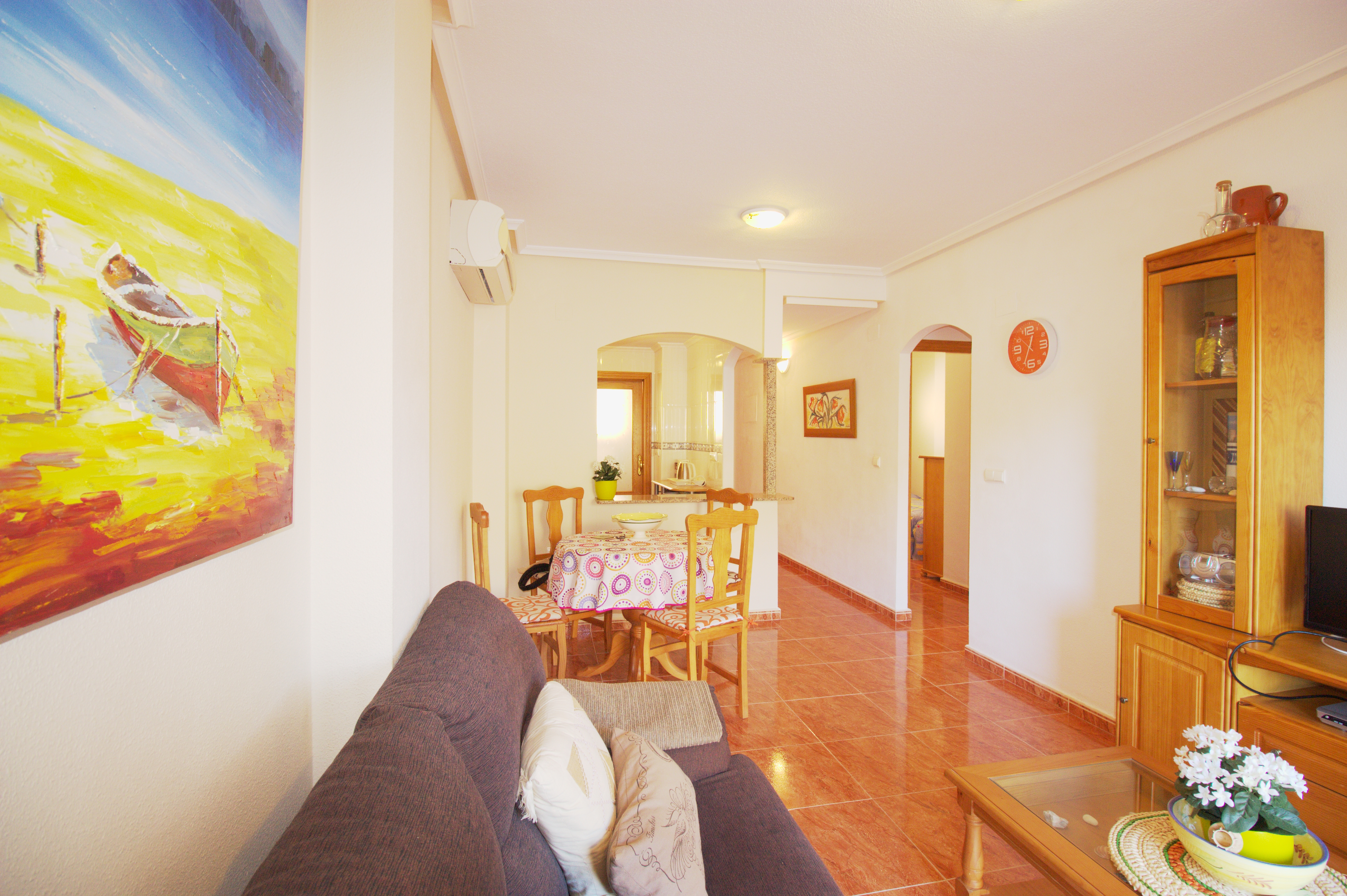 Two bedroom and ample terrace close to Cala Reona