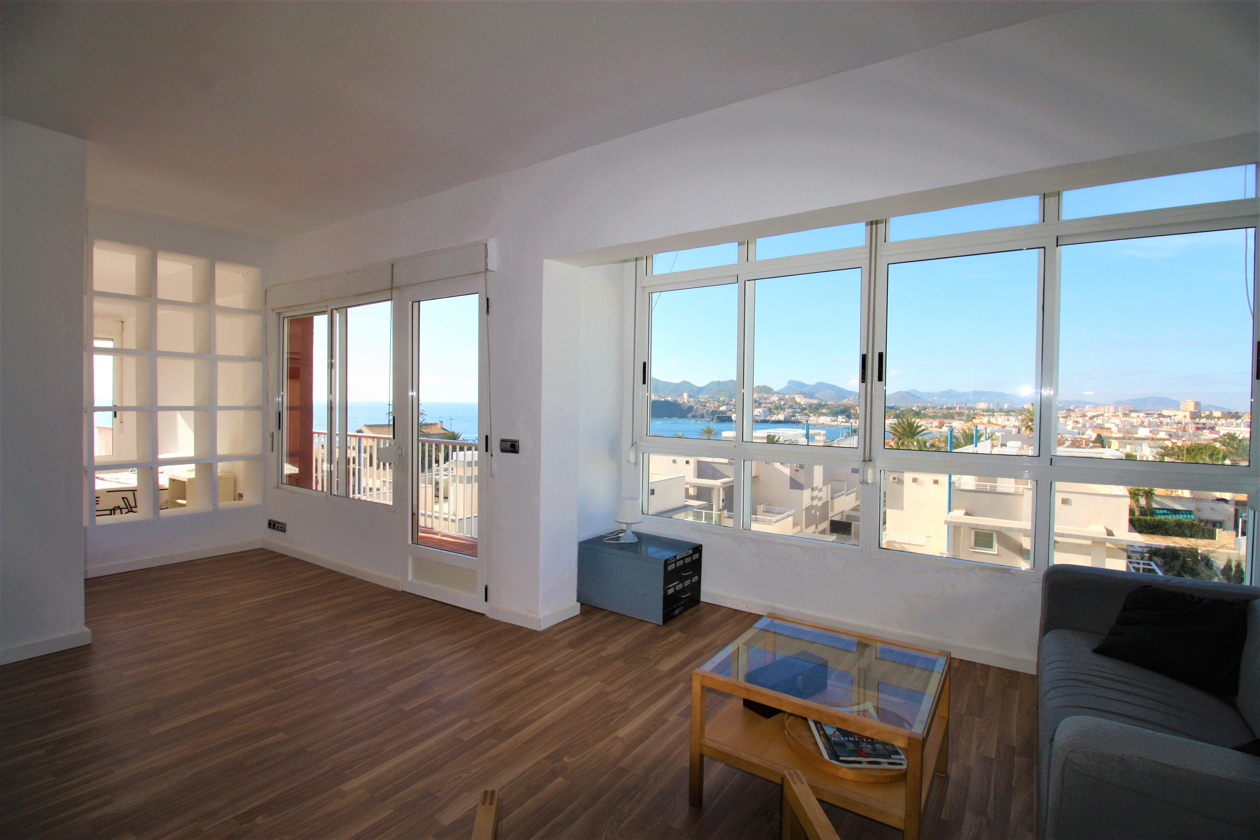 Loft style apartment with sea views in Cabo de Palos