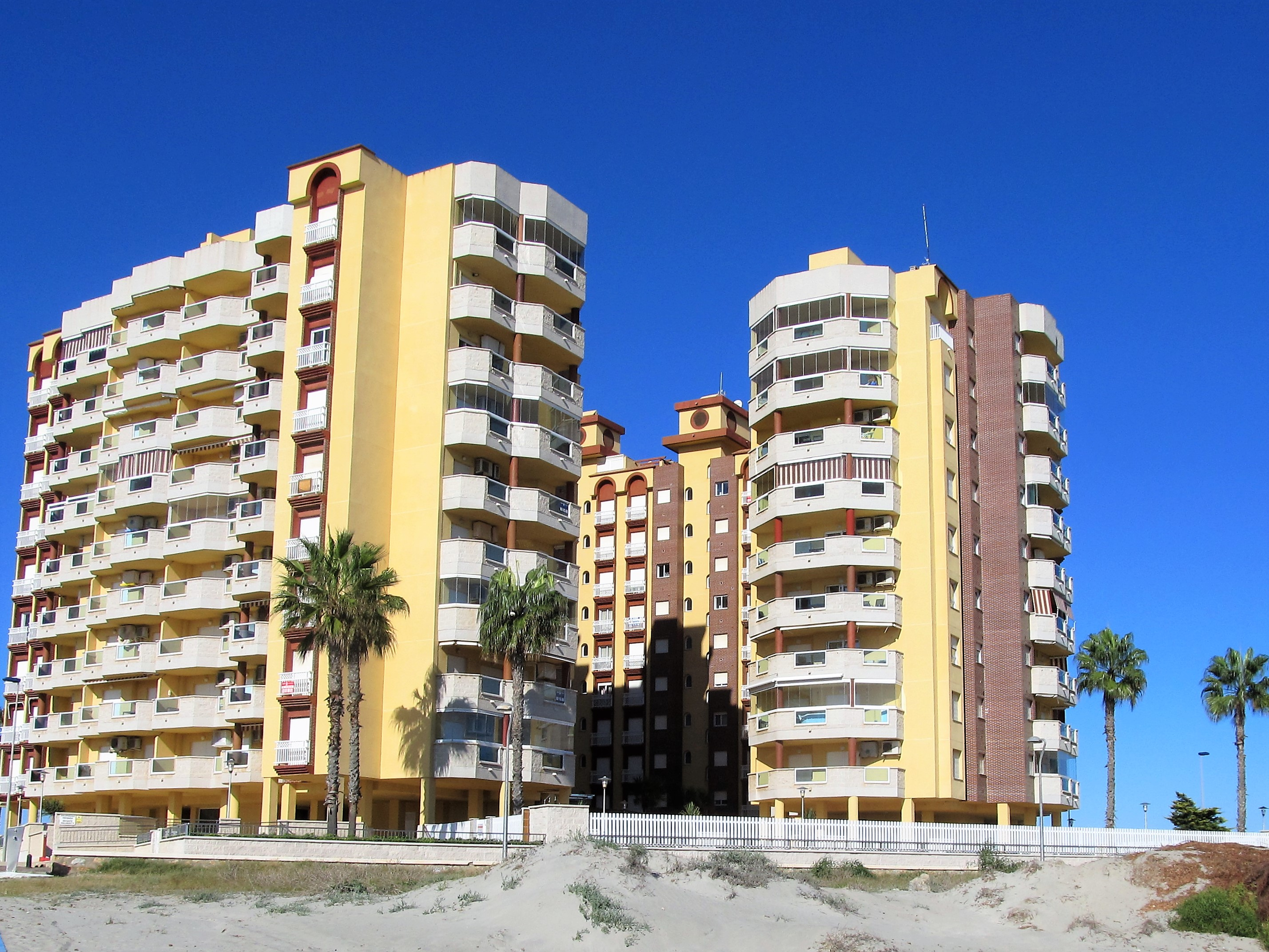 New two-bedroom apartments in Playa Principe