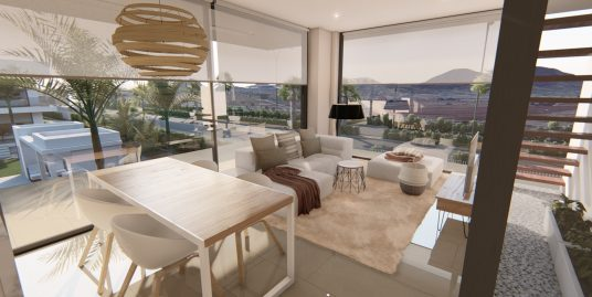 Brand new 3 bedroom penthouses in Mar de Cristal